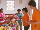 Projeto troca recicláveis por 'dinheiro' para roupas e alimentos em Lambari