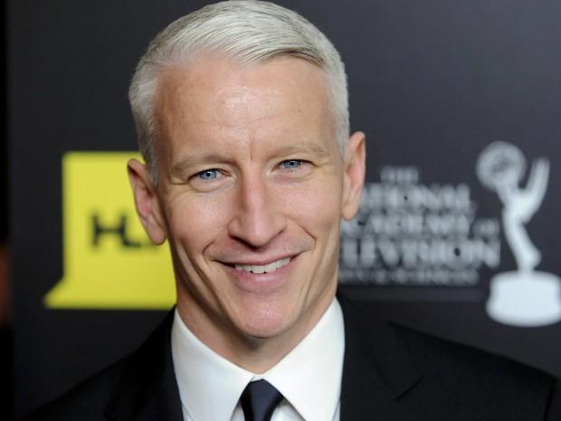 O jornalista Anderson Cooper, em junho de 2012, no Emmy Awards (Foto: Reuters/Gus Ruelas)