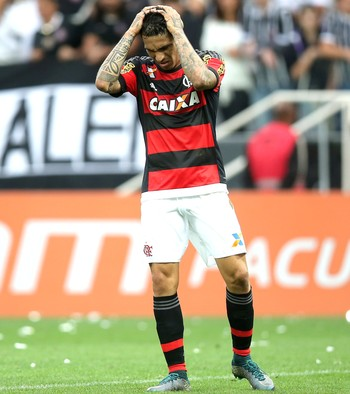 Guerrero, Corinthians X Flamengo (Foto: Friedemann Vogel / Getty Images)