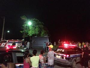 Turista é baleado e morre tentativa de assalto em distrito de Belém (Foto: Robério Vieira/TV Liberal)