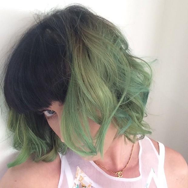 Katy Perry exibe o novo visual em rede social (Foto: Instagram/ Reprodução)