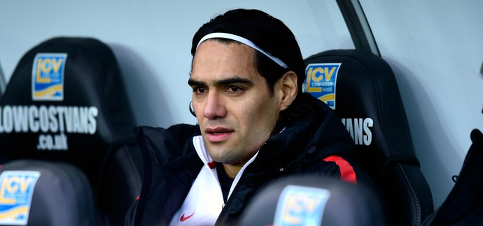 Falcao García Manchester United (Foto: Getty Images)
