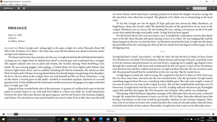 Aplicativo da Adobe permite a leitura de livros com DRM, baixados da loja Google Play (Foto: Reprodução/Filipe Garrett)