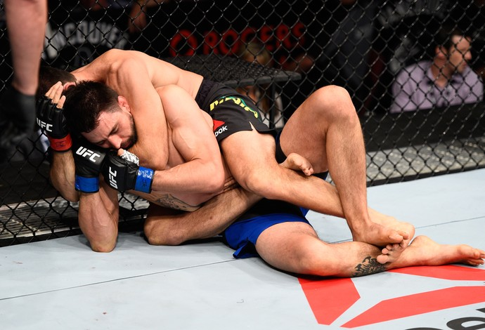 Demian Maia Carlos Condit UFC Vancouver (Foto: Getty Images)