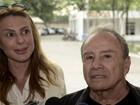 Mulher de Stênio Garcia sobre fotos íntimas: 'Investigação em sigilo total'