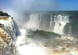 Cataratas do Iguaçu (Foto: Bibiana Dionísio/ G1)