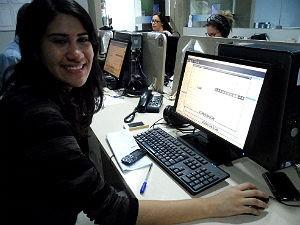 Letícia já sabe qual área do jornalismo pretende seguir (Foto: Divulgação/Anna Pontes)