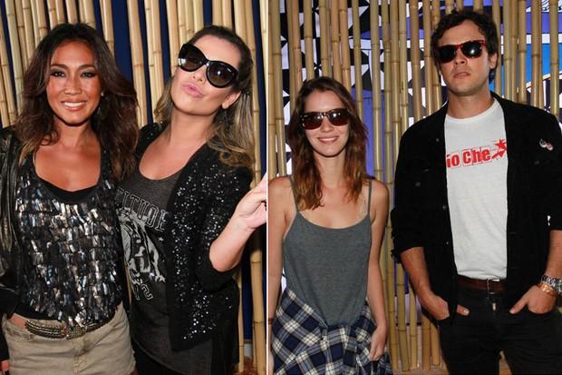 Nathália Dill, Sérgio Guizé, Daniela Suzuki e Fernanda Souza (Foto: Celso Tavares/ EGO)