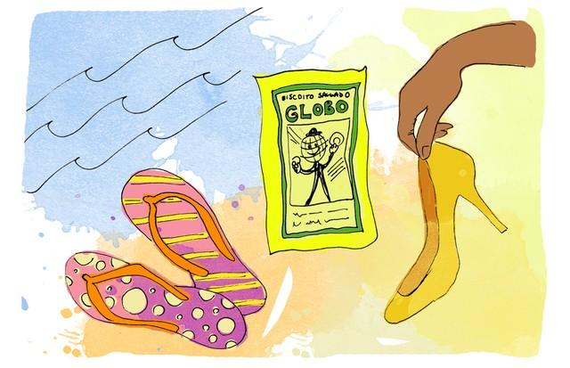 Como ser uma carioca, por Lenny Niemeyer  (Foto: Ilustração: Gabriela Camerotti)