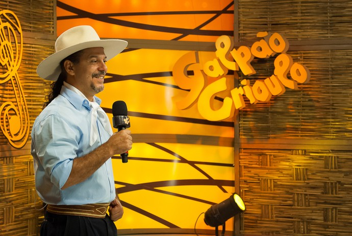 Neto Fagundes Galpão Crioulo (Foto: Fernando Alencastro/RBS TV)