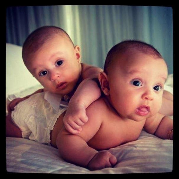 Kiko KLB posta fotos das sobrinhas (Foto: Instagram/Reprodução)
