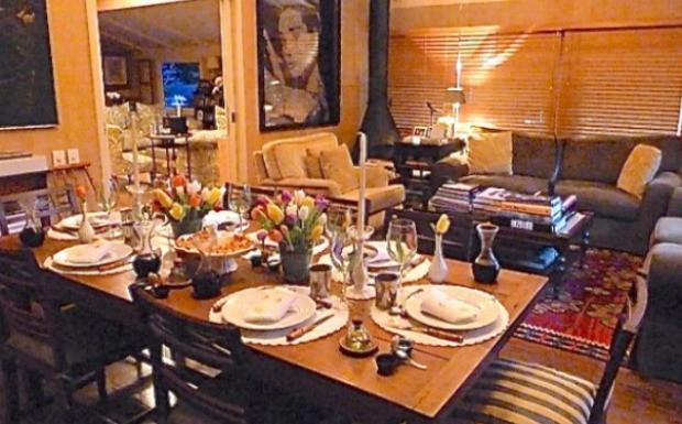 40 forever - mesa de jantar3 (Foto: Reproduo / 40 Forever)