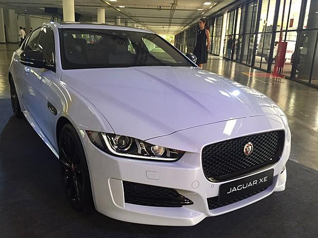 Jaguar XE R (Foto: Luciana de Oliveira / G1)