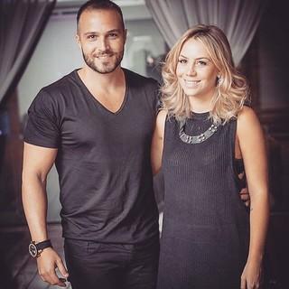 Fernando Mesquita e a mulher, Dani Lima (Foto: Reprodução/Facebook)