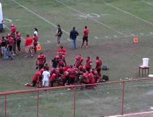 Flamengo Futebol Americano x Corinthians Steamrollers (Foto: Leo Velasco)