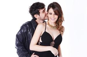 Vencedores do Concurso Malhação posam juntos (Caldeirão do Huck/ TV Globo)