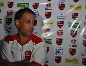 Celso Teixeira diz que Flamengo-PI enfrentará 'o melhor do mundo' (Foto: Renan Morais/GLOBOESPORTE.COM)