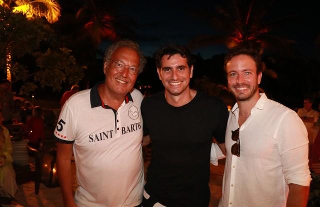Nizan Guanaes, Fred Schiliró e Davi Frota (Foto: Divulgação)