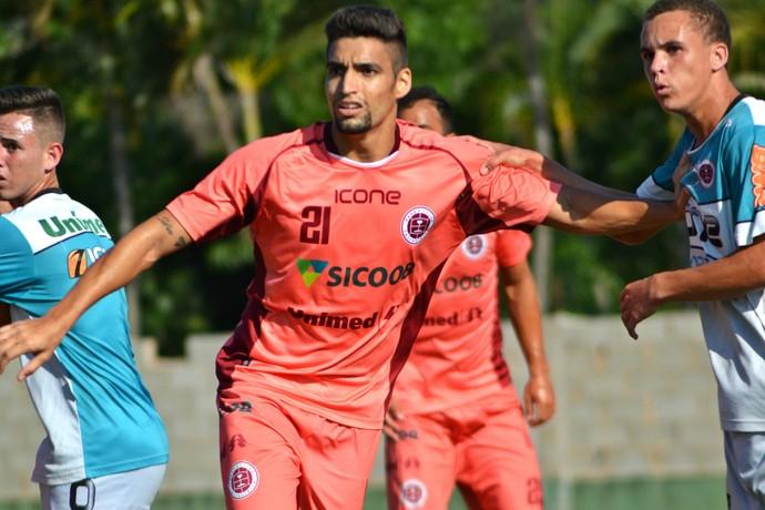 Richard Falcão, atacante da Desportiva Ferroviária (Foto: Henrique Montovanelli/Desportiva Ferroviária)