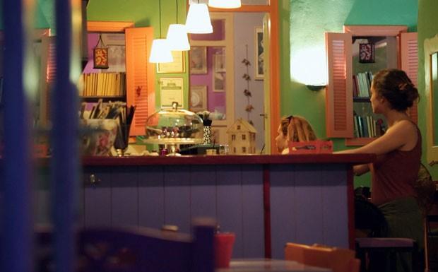 Pedro Pelo Mundo - Ep. 3 - Grcia - Kimolia Art Cafe (Foto: Reproduo / GNT)