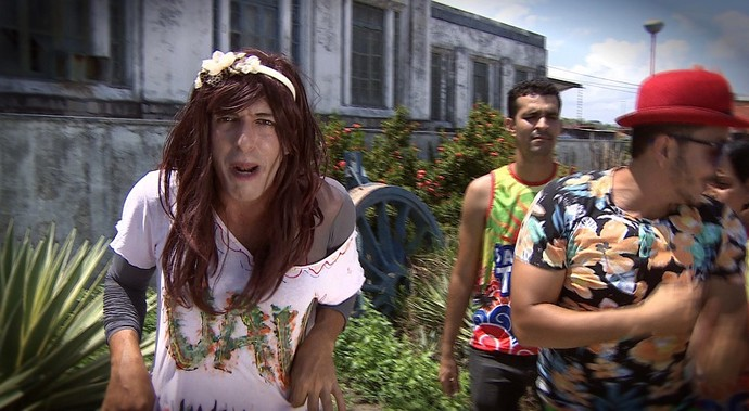 Ritinha vai curtir o carnaval (Foto: TV Sergipe)