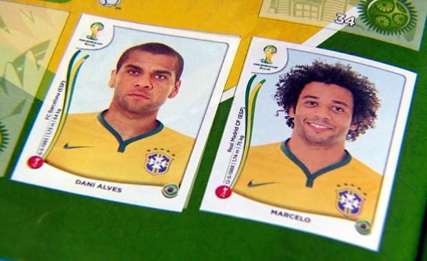 Eternizados nas figurinhas, craques da seleção são inspiração para jovens que querem jogar futebol. (Foto: Reprodução / EPTV)