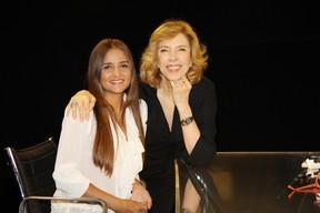 Catarina Migliorini e Marília Gabriela (Foto: Carol Soares / Divulgação)