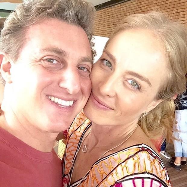 Luciano Huck e Angélica em festa no Rio (Foto: Instagram/ Reprodução)