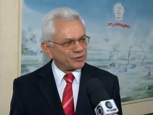Desembargador Francisco Paes Landim (Foto: Reprodução/TV Clube)