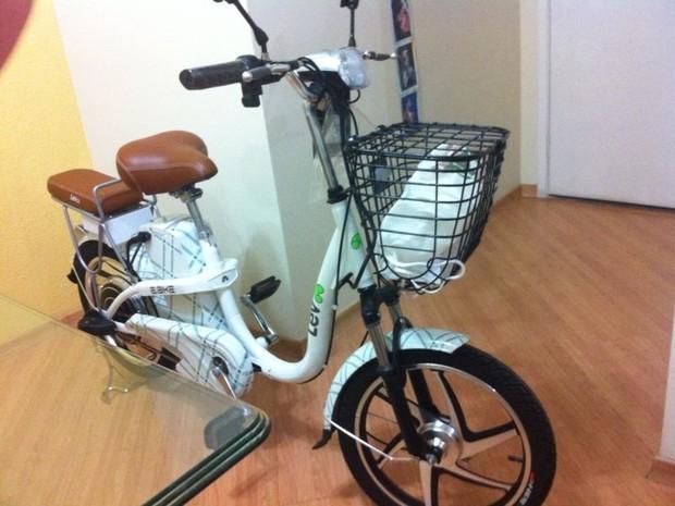 Bicicleta elétrica foi barrada em ciclovia da CPTM (Foto: Marcio Moreno/Arquivo Pessoal)