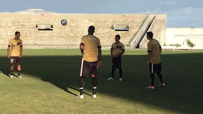 Botafogo-PB, treino do Botafogo-PB, no Almeidão (Foto: Divulgação / Botafogo-PB)