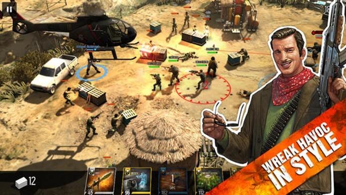 Jogo mistura estratégia em tempo real com card game (Foto: Divulgação)