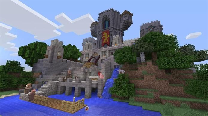 Minecraft: PlayStation 4 Edition tem mundos até 30 vezes maiores que no PlayStation 3 (Foto: computerandvideogames.com)