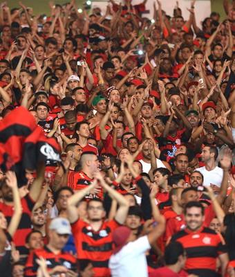 torcida Flamengo Maracanã (Foto: André Durão)