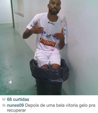 Nunes posta foto nas redes sociais após vitória contra Corinthians (Foto: Reprodução/ Instagram)