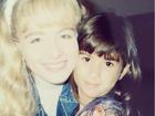 Tatá Werneck posta foto da infância ao lado de Angélica