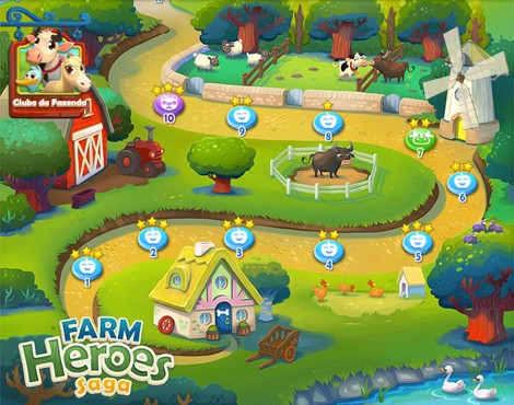 Farm Heroes Saga: dos mesmos criadores do famoso 'Candy Crush'