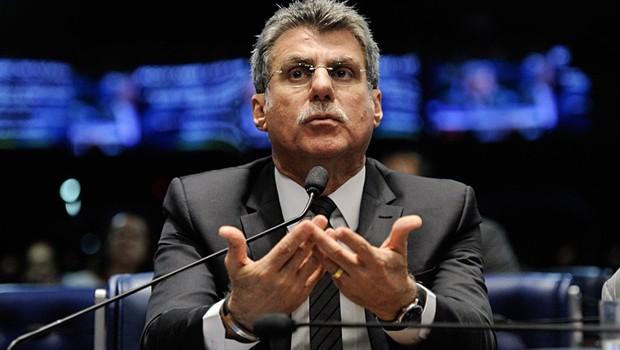 O senador Romero Jucá (PMDB-RR), líder do governo no Senado (Foto: Edilson Rodrigues/Agência Senado)