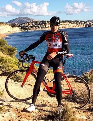 Daan Myngheer ciclista belga (Foto: Reprodução/Instagram)
