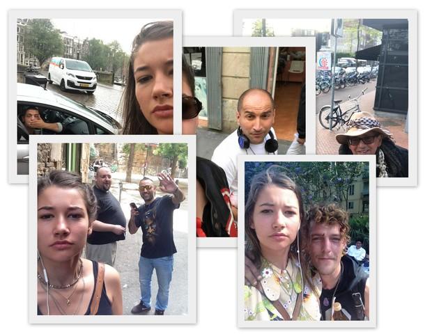 Holandesa tira selfies com homens que a assediam na rua (Foto: Reprodução Instagram)