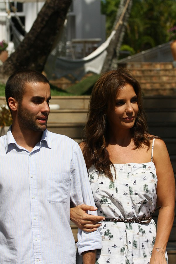 Ivete Sangalo e marido (Foto: Gabriel Fagundes/AgNews)