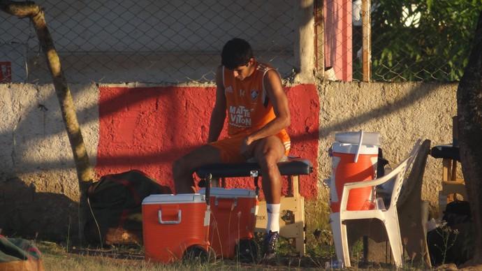 Victor Oliveira Fluminense (Foto: Daniel Gomes / GloboEsporte.com)