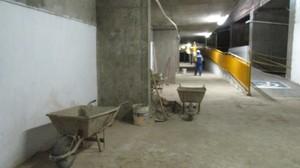 Estádio Albertão ainda em obras (Foto: Josiel Martins )