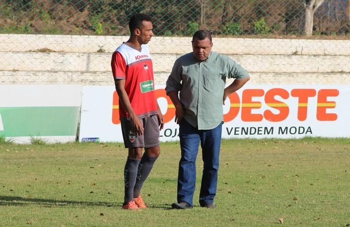 Eduardo e Evaldo Carvalho (Foto: Joana D'arc)