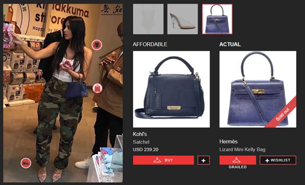 Kim Kardashian (Foto: reprodução site Look Live)