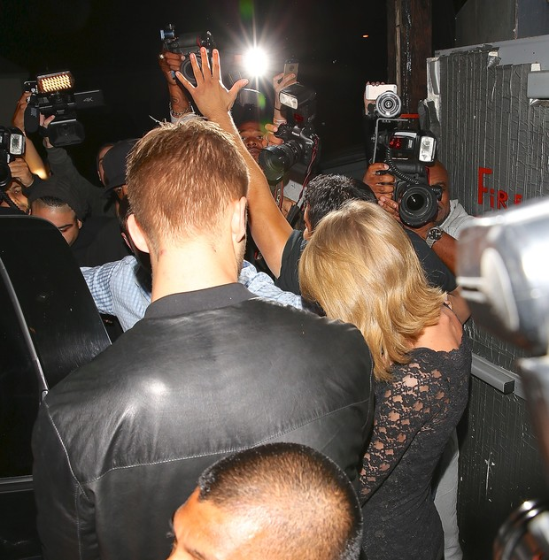 Taylor Swift e Calvin Harris (Foto: X17)
