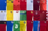Conheça os uniformes de todas as seleções do campeonato (Divulgação)