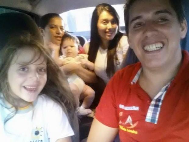 Cinco pessoas da mesma família morre em acidente no Ceará (Foto: Arquivo pessoal)