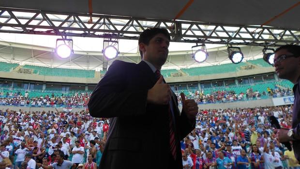 Carlos Ratis ficará à frente do Bahia até o dia 31 de agosto (Foto: Eric Luis Carvalho)