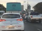 Bloqueios no trânsito para jogos da Olimpíada congestionam vias do DF